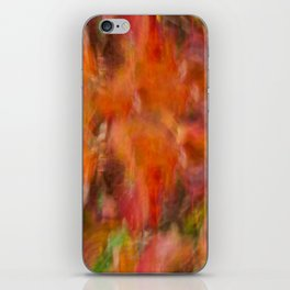 Autumn Smear iPhone Skin