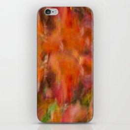 Autumn Smear iPhone Skin