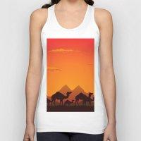camel Tank Tops featuring Camel by aleksander1