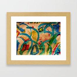 """""""Blue-Mystery"""" Framed Art Print"""
