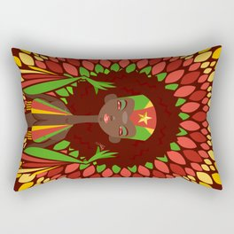FIFA 2014 Samba Girls Series: Cameroon Rectangular Pillow