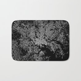 Baltimore map Maryland Bath Mat