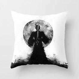 BlackSamurai Throw Pillow