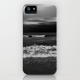 Through gray eyes iPhone Case