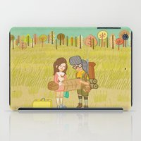 moonrise kingdom iPad Cases featuring 'Moonrise Kingdom' by Nicola Colton illustration