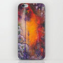 fire storm iPhone Skin