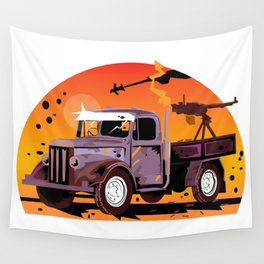K1 Technical - Destroy Wall Tapestry
