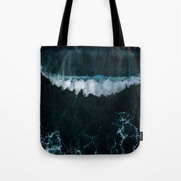 Wave in Motion - Ocean Photography Tote Bag