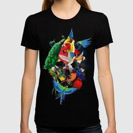 Avian skull T-shirt