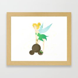 Tink and the Mickey Bar Framed Art Print