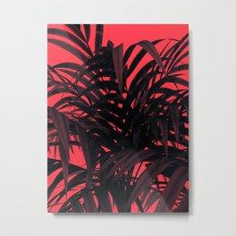 Tropical Leaf Metal Print