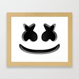 Marshmello - Helmet Framed Art Print