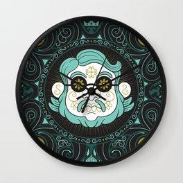 GUILLERMO DEL TORO - DIA DE MUERTOS TRIBUTE Wall Clock
