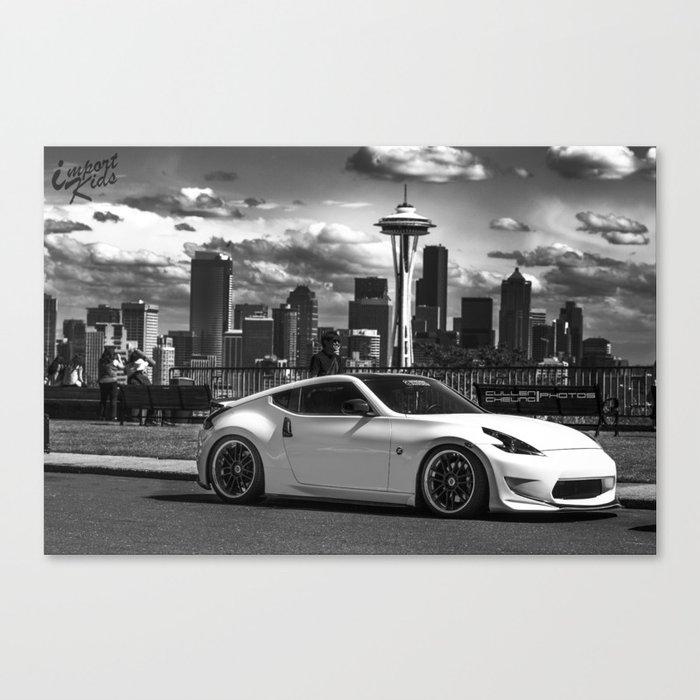 Seattle - Amuse Z34 Canvas Print