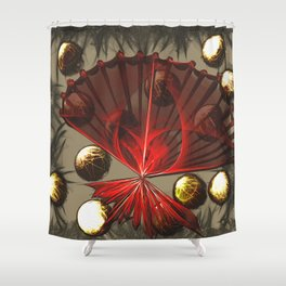 The Memory of Desire Shower Curtain