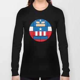 Captain America | Projekt Sirkols Long Sleeve T-shirt