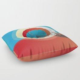 Rain Again Floor Pillow