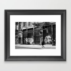 Crosby Street SoHo Framed Art Print