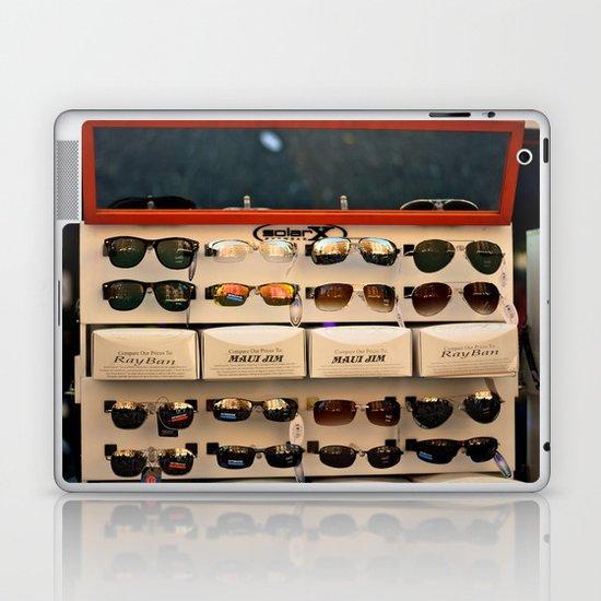 Street Fair Shoppin' Laptop & iPad Skin