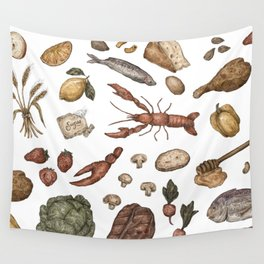 Food Wall Tapestry