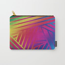 Rainbow Ombre Pattern A Carry-All Pouch