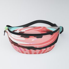 Chocolate Cupcakes with Pink Buttercream Fanny Pack