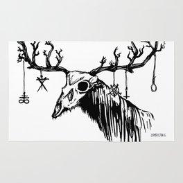 Wendigo by zombiecraig. Rug