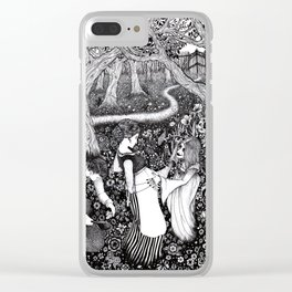 Come Here and Be Loved / Rapunzel Clear iPhone Case