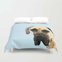 Great Dane Art - Dog Painting by Sharon Cummings Duvet Cover
