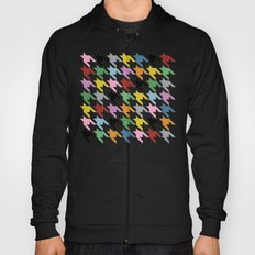 Dogtooth New on Black Hoody
