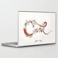 cook Laptop & iPad Skins featuring Cook  by Ketina