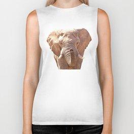 Elephant illustration Biker Tank