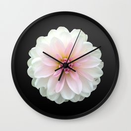 LONELY DAHLIA Wall Clock