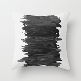 Abstract Minimalism #2 #minimal #ink #decor #art #society6 Throw Pillow