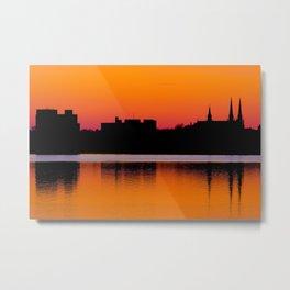 Charlottetown Sunset Metal Print