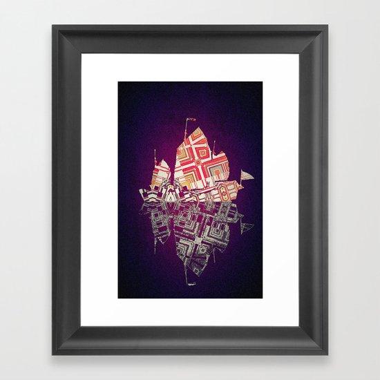 Junk 2 Framed Art Print