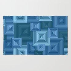 Blue Platformer Rug