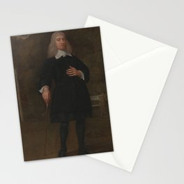 Abraham Staphorst - Colonel Alexander Popham, of Littlecote, Wiltshire (1660) Stationery Cards