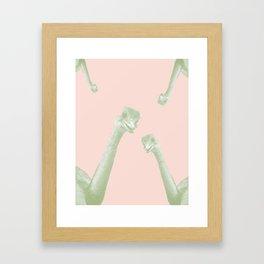 OSTRICH PEEKABOO PROJECT 01 Framed Art Print