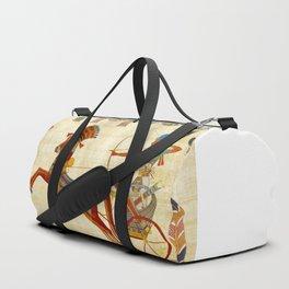 egyptian tutunkhamun pharaoh design Duffle Bag