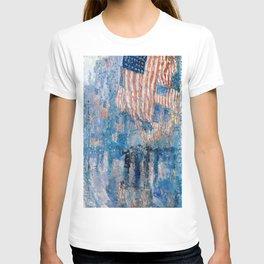 Childe Hassam - The Avenue in the Rain T-shirt