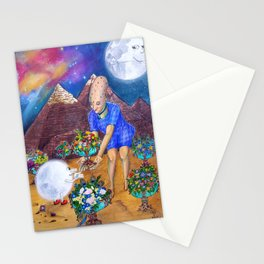 Ancient Memories - 6 of Cups Stationery Cards