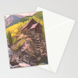 Crystal River Mill near Marble, a Colorado Icon Stationery Cards