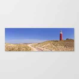 II - Lighthouse on the island of Texel in The Netherlands Canvas Print