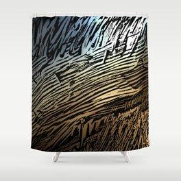 Interesting Evening Shower Curtain