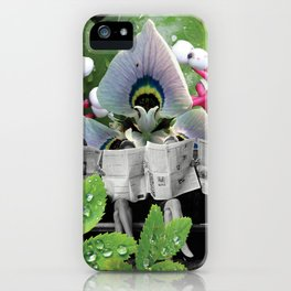 I Wonder What the Headline is Today? iPhone Case