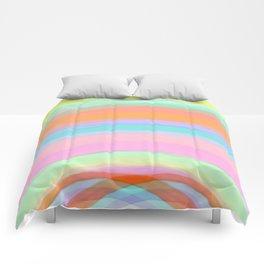 Double Rainbow - Fluor colors - Unicorn dreamers Comforters