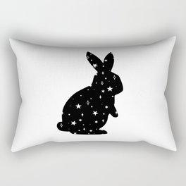 Space Rabbit Rectangular Pillow