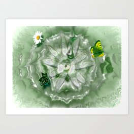 Natures Ripple Art Print