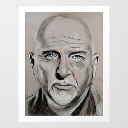 Peter Gabriel Art Print